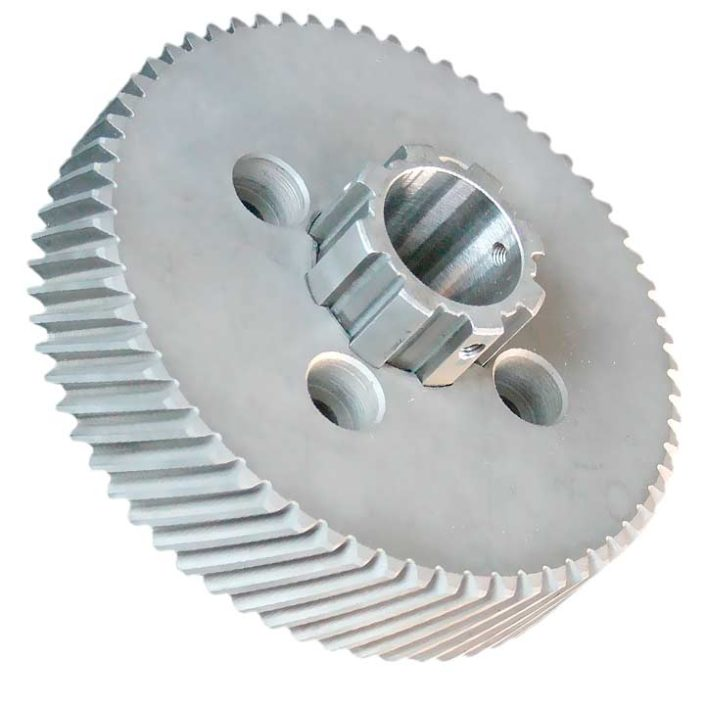 Spur Gear with Spline Hub